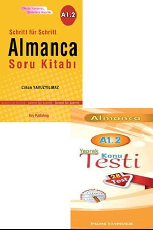 Resim Almanca Soru Kitabı + Yaprak Test A1.2 Seti