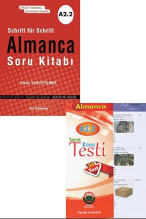 Resim Almanca Soru Kitabı + Yaprak Test A2.2 Seti