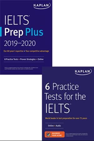 Resim IELTS Prep Plus + 6 Practice Tests For The IELTS 2019 - 2020 Set