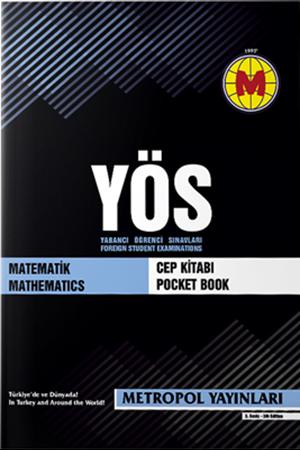 Resim YÖS Matematik Cep Kitabı
