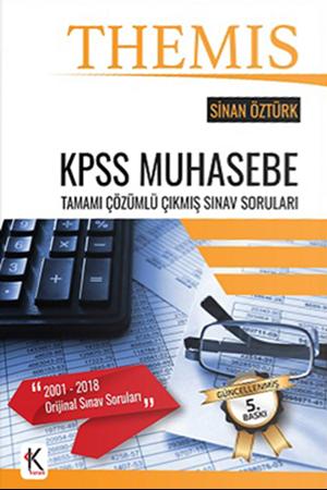 Resim THEMİS KPSS Muhasebe Tamamı Çözümlü Çıkmış Sınav Soruları