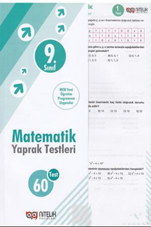 Resim 9. Sınıf Matematik Yaprak Testleri
