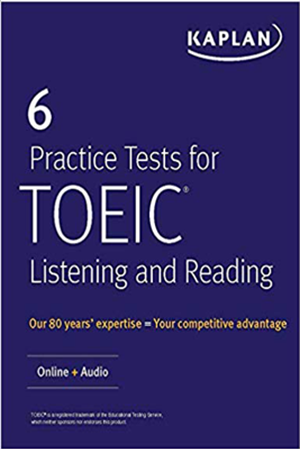 Resim 6 Practice Tests for TOEIC Listening and Reading