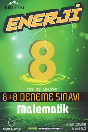 Resim 8.Sınıf Enerji Matematik 8+8 Deneme Sınavı