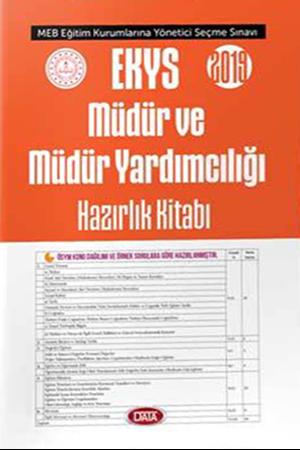 Resim 2019 MEB EKYS Müdür ve Müdür Yardımcılığı Hazırlık Kitabı