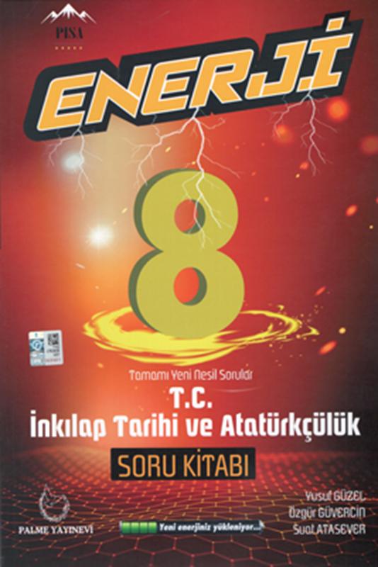 resm 8. Sınıf Enerji T.C İnkılap Tarihi ve Atatürkçülük Tamamı Yeni Nesil Soru Kitabı