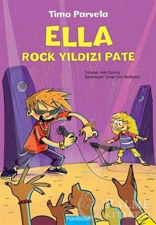 Resim Ella - Rock Yıldızı Pate