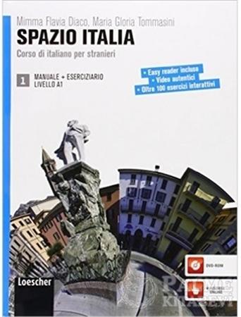 Resim Spazio Italia Manuale 1 +Eserciziario con DVD-ROM