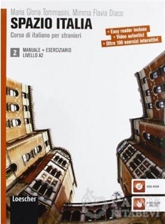 Resim Spazio Italia Manuale 2 +Eserciziario con DVD-ROM