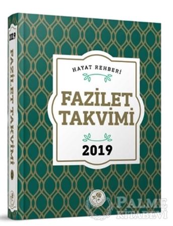 Resim 2019 Fazilet Takvim - Yurtiçi 1.Bölge Ciltli