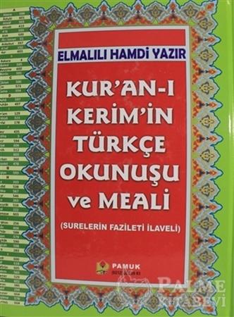 Resim Kur'an-ı Kerim'in Türkçe Okunuşu ve Meali