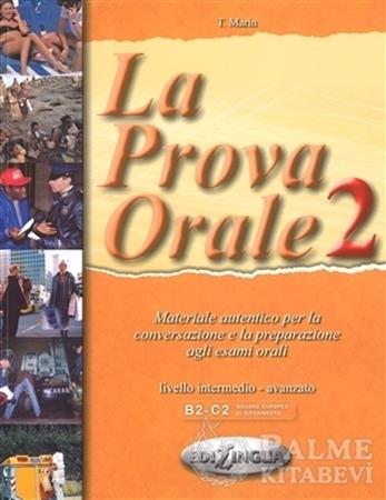 Resim La Prova Orale 2 (İtalyanca İleri Seviye Konuşma)
