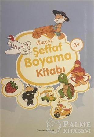 Resim Şeffaf Boyama Kitabı