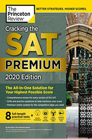 Resim Cracking the SAT Premium Edition with 8 Practice Tests, 2020