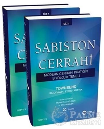 Resim Sabiston Cerrahi - Modern Cerrahi Pratiğin Biyolojik Temeli 2 Cilt Takım