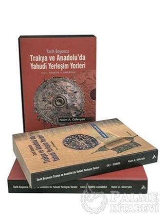 Resim Tarih Boyunca Trakya ve Anadolu'da Yahudi Yerleşim Yerleri (2 Kitap Takım)