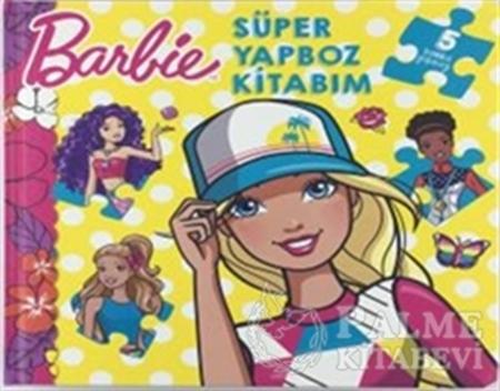 Resim Barbie - Süper Yapboz Kitabım