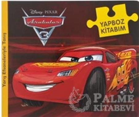 Resim Disney Arabalar 3 - Yapboz Kitabım