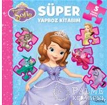 Resim Prenses Sofia - Süper Yapboz Kitabım