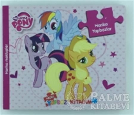 Resim My Little Pony - Neşeli Yapboz Kitabım