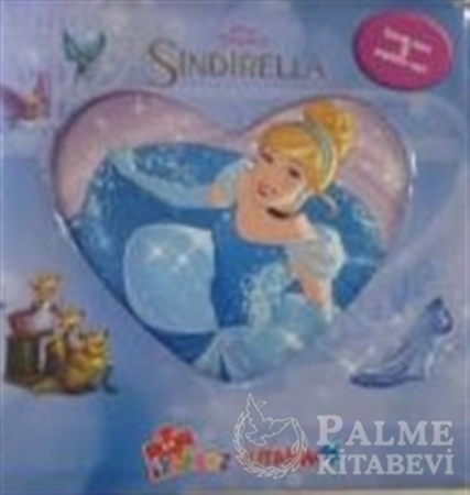 Resim Disney Prenses Sindirella İlk Yapboz Kitabım