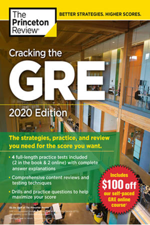 Resim Cracking The GRE 2020 Edition