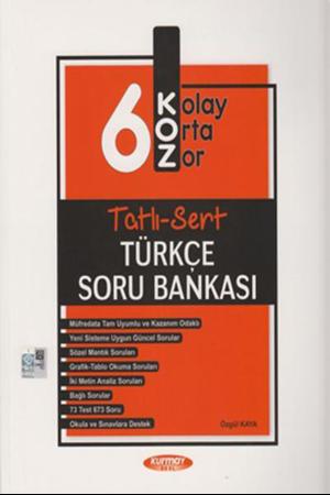 Resim 6. Sınıf Türkçe KOZ Tatlı Sert Soru Bankası
