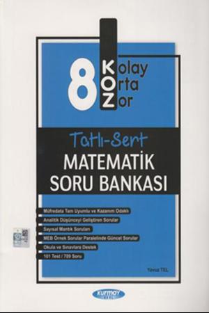 Resim 8. Sınıf Matematik KOZ Tatlı Sert Soru Bankası