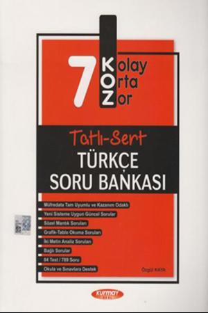 Resim 7. Sınıf Türkçe KOZ Tatlı Sert Soru Bankası