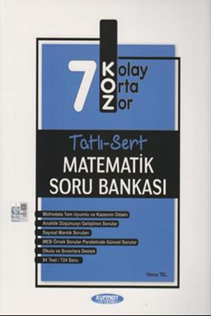 Resim 7. Sınıf Matematik KOZ Tatlı Sert Soru Bankası