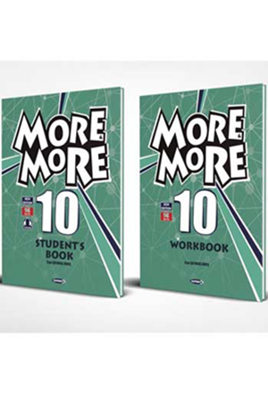 Resim More and More English 10 Students Book + Workbook