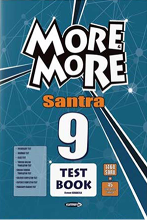 Resim More and More English 9 Santra Test Book