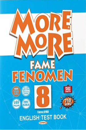 Resim More and More English 8 Fame Fenomen Test Book
