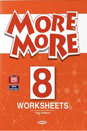 Resim More and More English 8 Worksheets