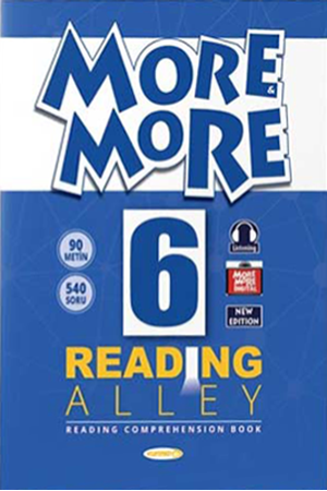 Resim More and More English 6 Reading Alley