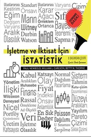 Resim İşletme ve İktisat için İstatistik (Ekonomik Baskı)