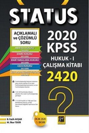 Resim Status KPSS A Gurubu Hukuk I Çalışma Kitabı
