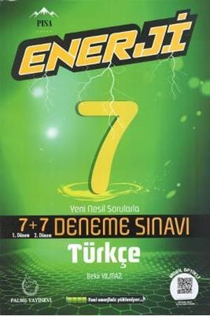 Resim 7. Sınıf Enerji Türkçe 7+7 Deneme Sınavı