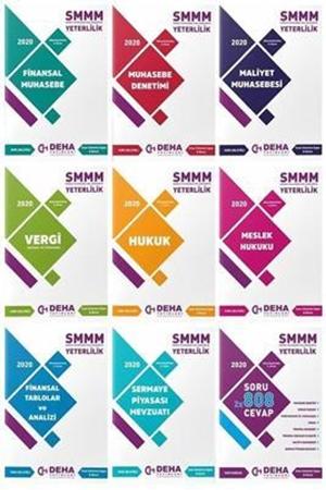Resim 2020 SMMM Yeterlilik Konu Anlatımlı ve Soru Bankası 9'lu Set