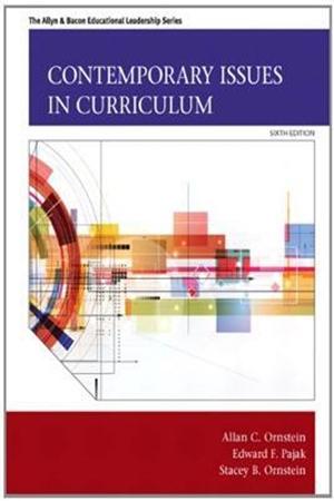 Resim Contemporary Issues in Curriculum 6e