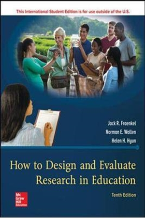 Resim How to Design and Evaluate Research in Education 10e