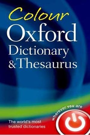 Resim Colour Oxford Dictionary & Thesaurus 3e