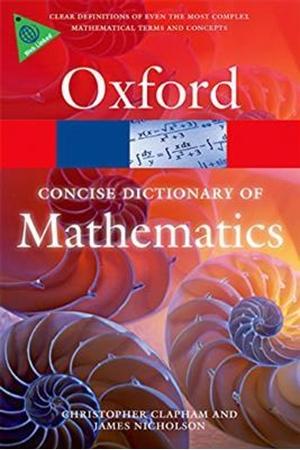 Resim The Concise Oxford Dictionary of Mathematics 5e