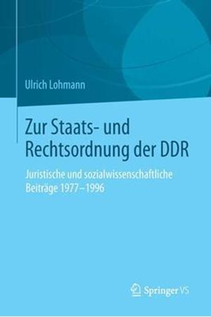 Resim Zur Staats- und Rechtsordnung der DDR