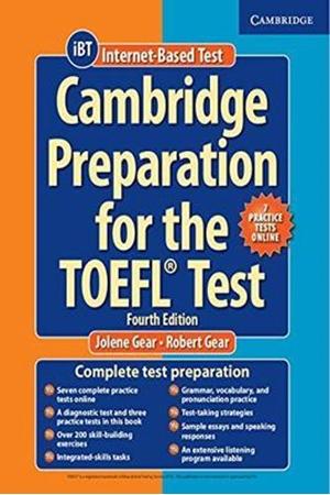 Resim Cambridge Preparation for the TOEFL Test 4e