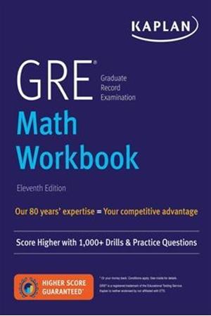 Resim GRE Math Workbook 11e