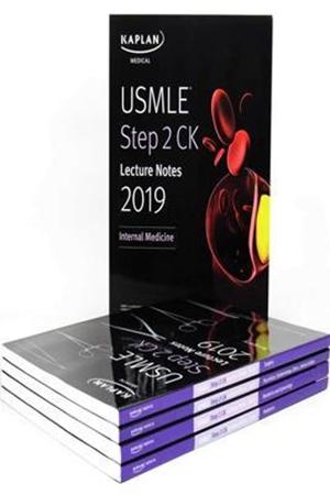 Resim USMLE Step 2 CK Lecture Notes 2019: 5-book set 1e
