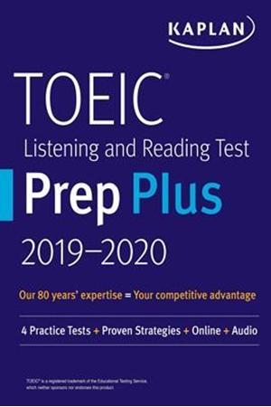Resim TOEIC Listening and Reading Test Prep Plus 2019-2020 5e