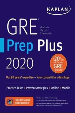 Resim GRE Prep Plus 2020