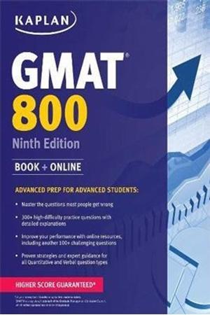 Resim Kaplan GMAT 800 9e